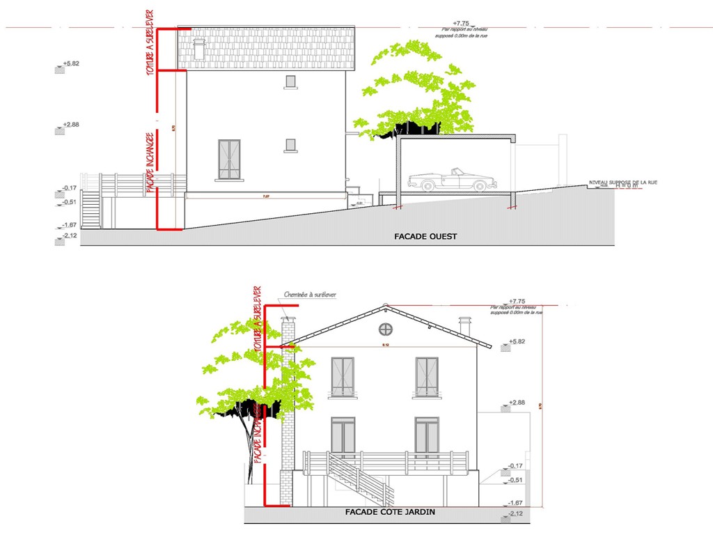 Saussaies ka architecture for Garage danielle casanova